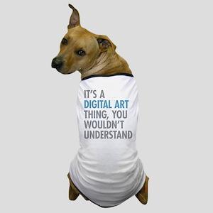 Digital Art Thing Dog T-Shirt