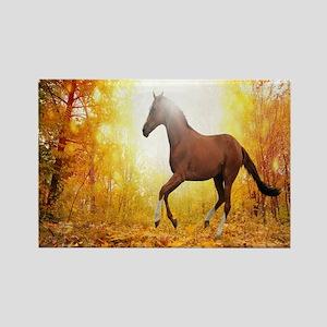 Horse Autumn Magnets