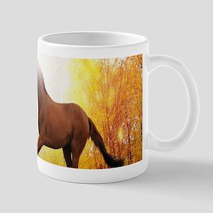 Horse Autumn Mugs