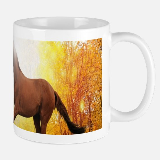 Horse Autumn Mugs