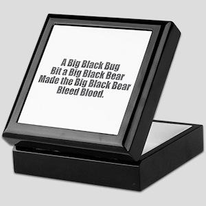 Big Black Bug Keepsake Box