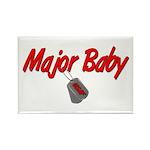 USAF Major Baby Rectangle Magnet (10 pack)