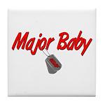 USAF Major Baby Tile Coaster