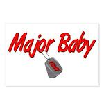 USAF Major Baby Postcards (Package of 8)