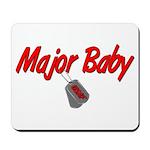 USAF Major Baby Mousepad
