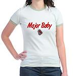 USAF Major Baby Jr. Ringer T-Shirt