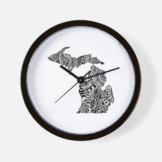 Cute Upper michigan Wall Clock