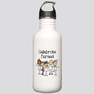 Celebrate Nurses Stainless Water Bottle 1.0L