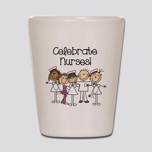 Celebrate Nurses Shot Glass