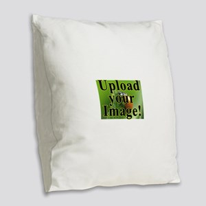 Completely Custom! Burlap Throw Pillow