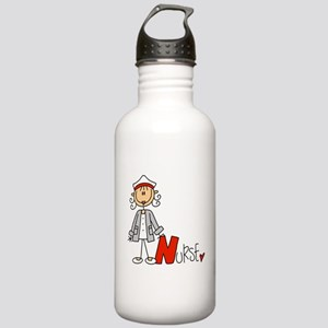 Female Stick Figure Nu Stainless Water Bottle 1.0L
