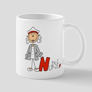 Female Stick Figure Nurse Mug