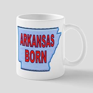 ARKANSAS BORN Mugs
