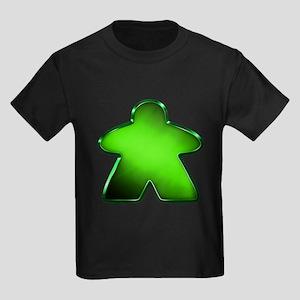 Metallic Meeple - Green T-Shirt