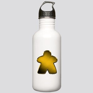 Metallic Meeple - Gold Stainless Water Bottle 1.0L