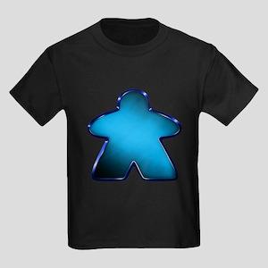 Metallic Meeple - Blue T-Shirt