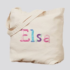 Elsa Princess Balloons Tote Bag