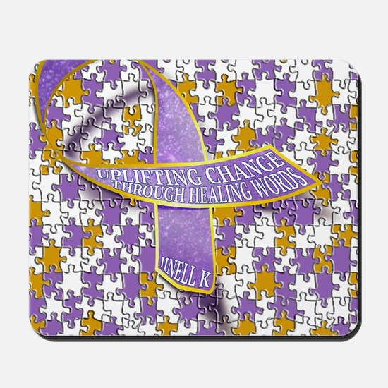 Putting all the puzzles back together Mousepad