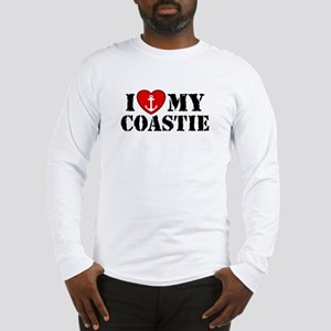 I Love My Coastie Long Sleeve T-Shirt
