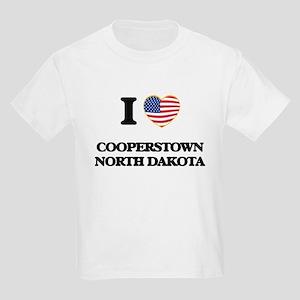 I love Cooperstown North Dakota T-Shirt