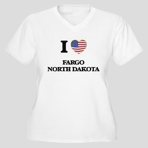 I love Fargo North Dakota Plus Size T-Shirt