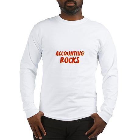 Accounting~Rocks Long Sleeve T-Shirt