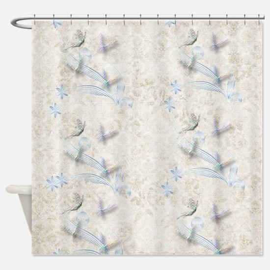 pretty dragonfly shower curtains. Dragonfly Garden Shower Curtain Curtains  CafePress