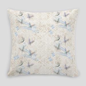 Dragonfly Garden Everyday Pillow