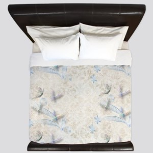 Dragonfly Garden King Duvet