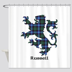 Lion-Russell Shower Curtain
