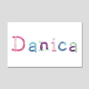 Danica Princess Balloons 20x12 Wall Peel