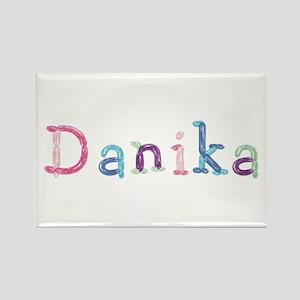 Danika Princess Balloons Rectangle Magnet