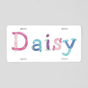 Daisy Princess Balloons Aluminum License Plate
