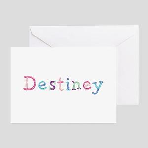 Destiney Princess Balloons Greeting Card