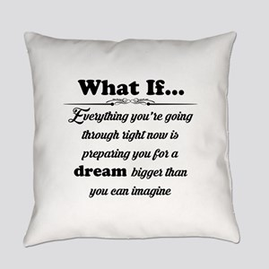 What If Everyday Pillow