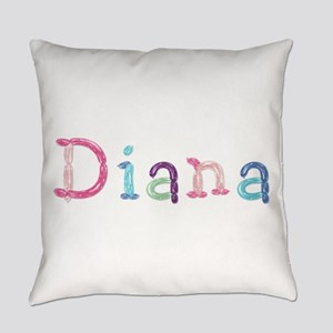 Diana Princess Balloons Everyday Pillow