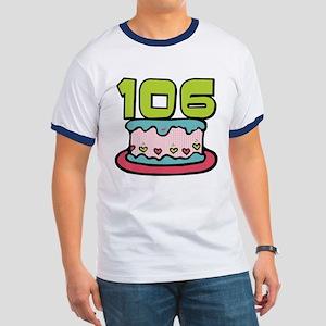106 Year Old Birthday Cake Ringer T