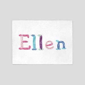 Ellen Princess Balloons 5'x7' Area Rug