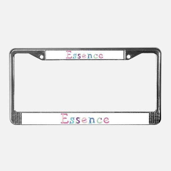 Essence Princess Balloons License Plate Frame