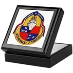 USS HERBERT J. THOMAS Keepsake Box