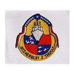 USS HERBERT J. THOMAS Throw Blanket