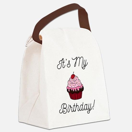 It's My Birthday! Canvas Lunch Bag