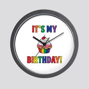 It's My Birthday! Wall Clock