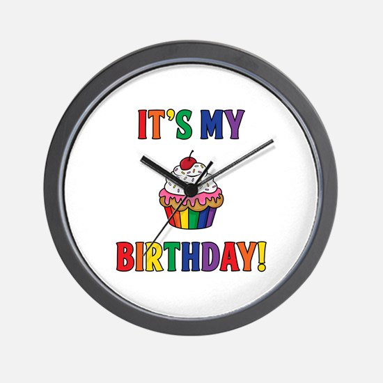 It's My Birthday! Wall Clock