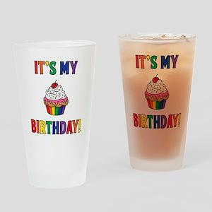 It's My Birthday! Drinking Glass