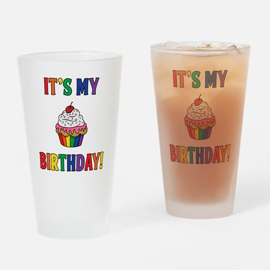 It's My Birthday! Drinking Glass