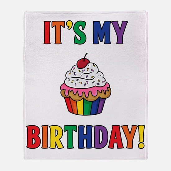 It's My Birthday! Throw Blanket