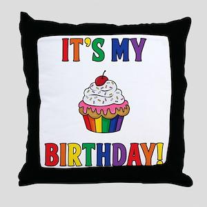 It's My Birthday! Throw Pillow