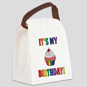 It's My Birthday! Canvas Lunch Bag