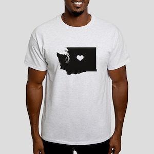 Heart in Washington State T-Shirt